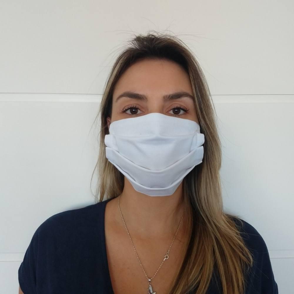 Máscara De Proteção Tecido 100% Algodão Lavável  - SAPATOWEB.COM