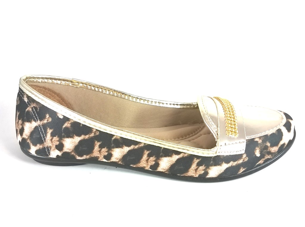 Sapatilha Confort FEM by Color Shoes Animal Print   - SAPATOWEB.COM