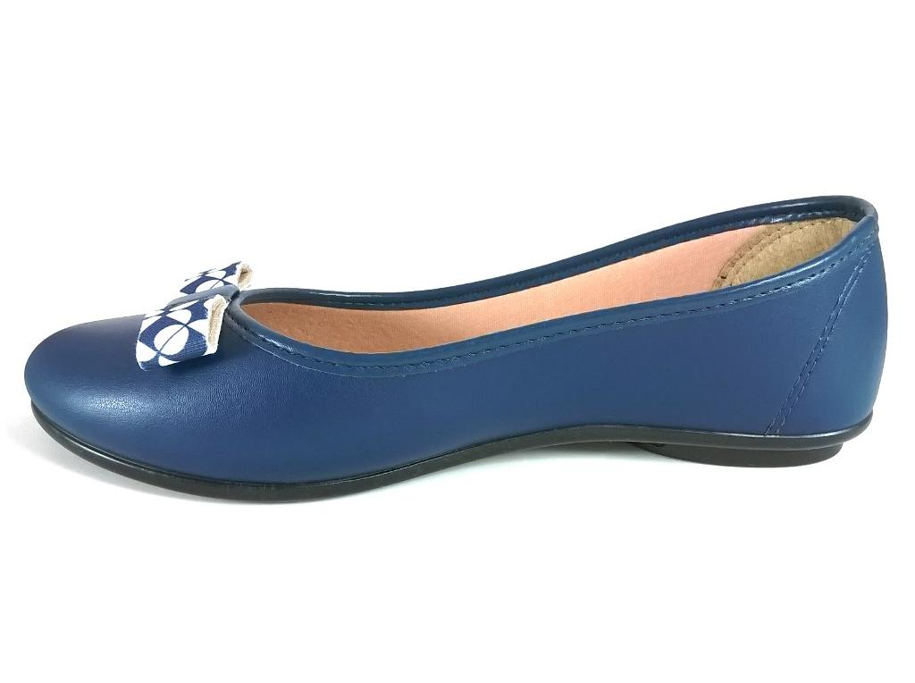 Sapatilha Confort FEM by Color Shoes Azul  - SAPATOWEB.COM