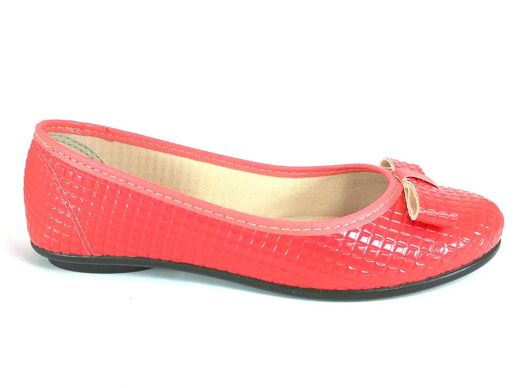 Sapatilha Confort FEM by Color Shoes Lacinho Laranja  - SAPATOWEB.COM
