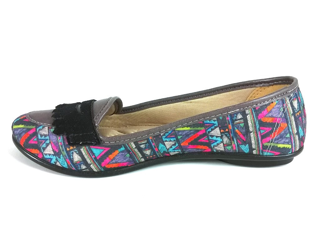 Sapatilha Confort FEM by Color Shoes Multicolorida  - SAPATOWEB.COM