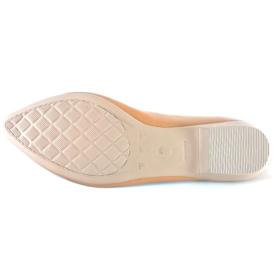Sapatilha Lacinho SapatoWeb Napa Marrom  - SAPATOWEB.COM