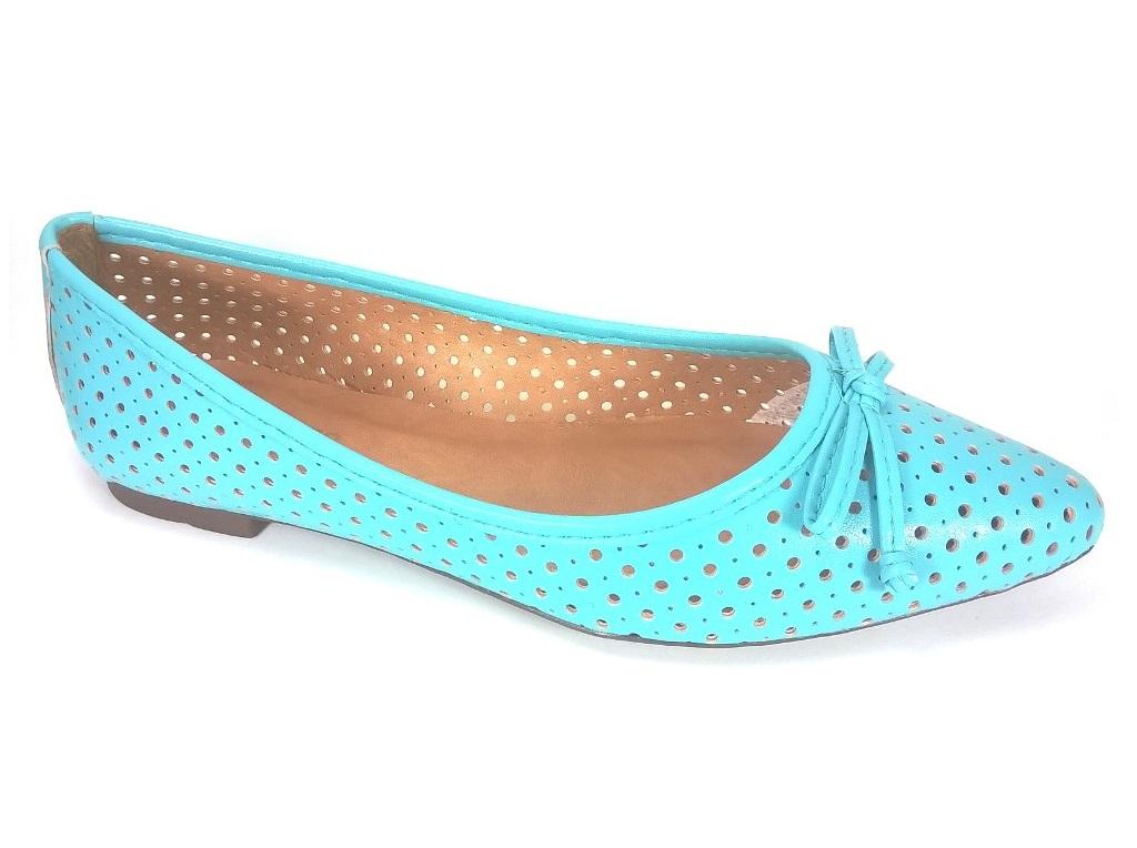 Sapatilha RR Shoes Laser Turquesa  - SAPATOWEB.COM