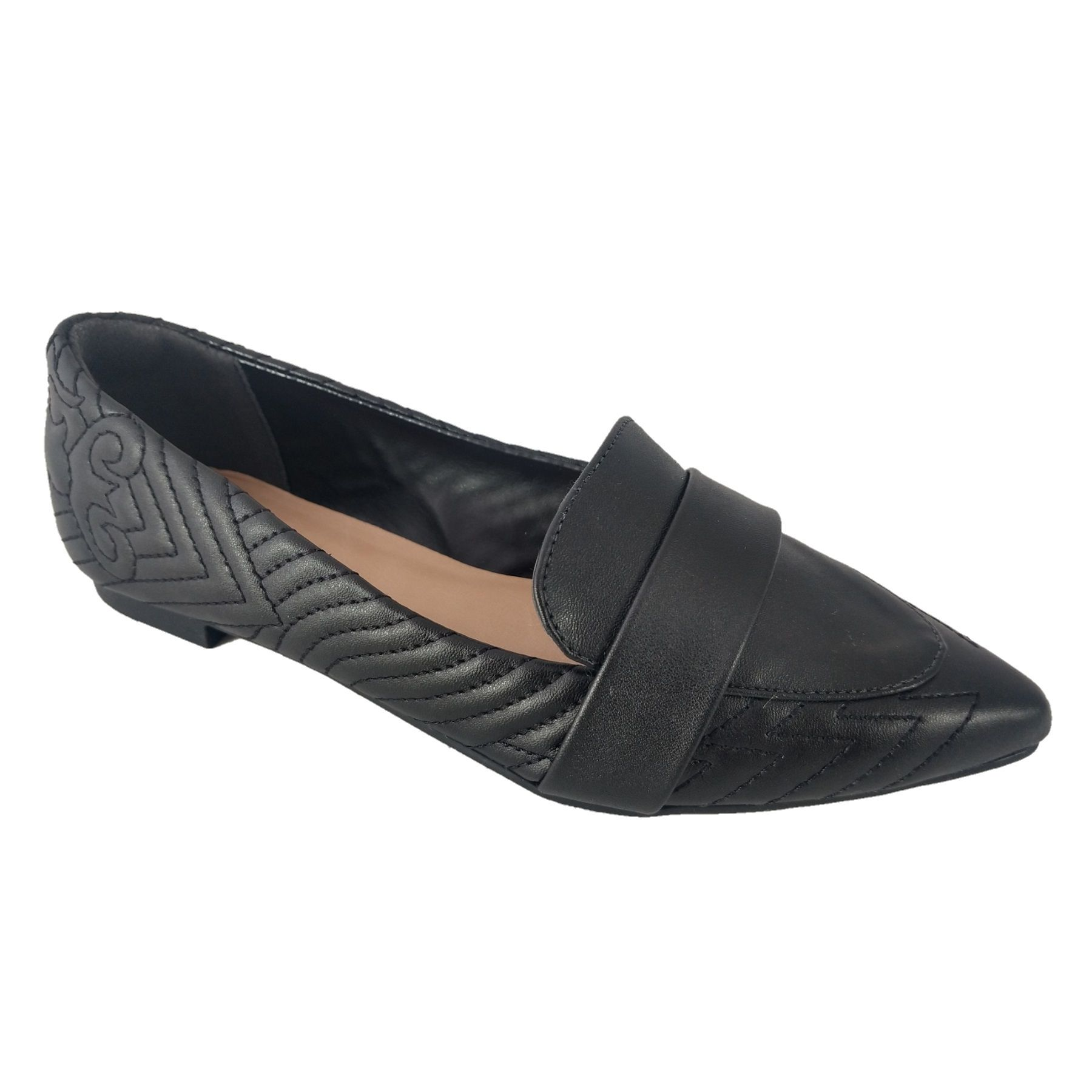 Slipper Feminino SapatoWeb Confort Preto  - SAPATOWEB.COM