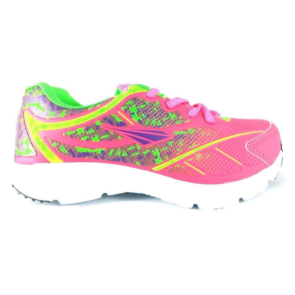 Tênis Feminino TopGrife Fill On Running Pink  - SAPATOWEB.COM