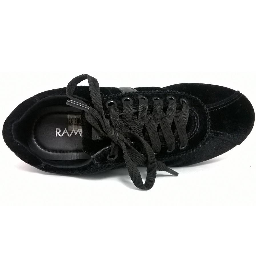 Tênis Ramarim Jogging Preto  - SAPATOWEB.COM