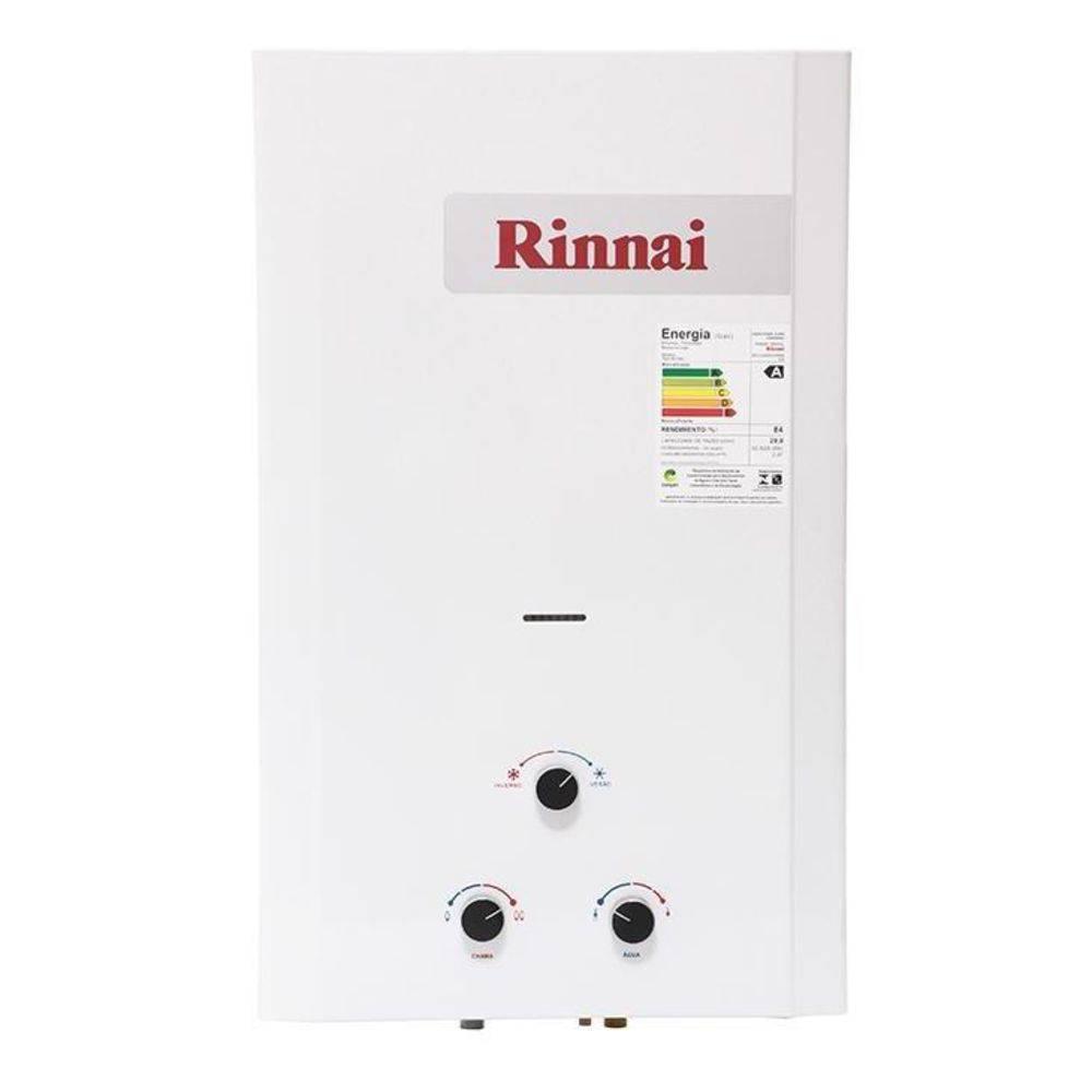 Aquecedor a Gás Mecânico Rinnai REU-M200 CFHB 20L GLP