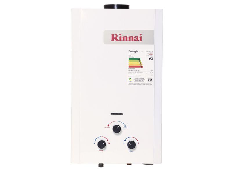 Aquecedor a Gás Mecânico Rinnai REU-M110 CFHB 11,5L GLP