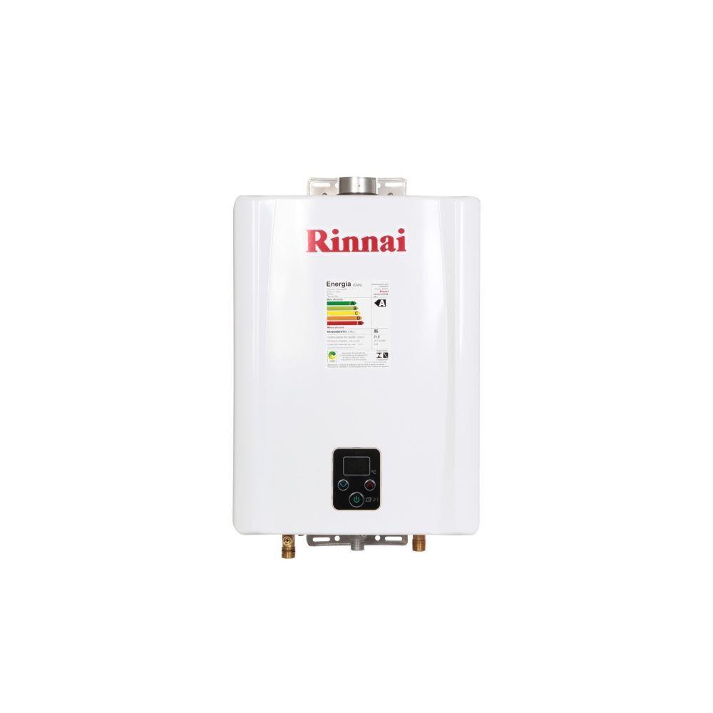 Aquecedor a gás digital Rinnai E21 - 21 litros - GN