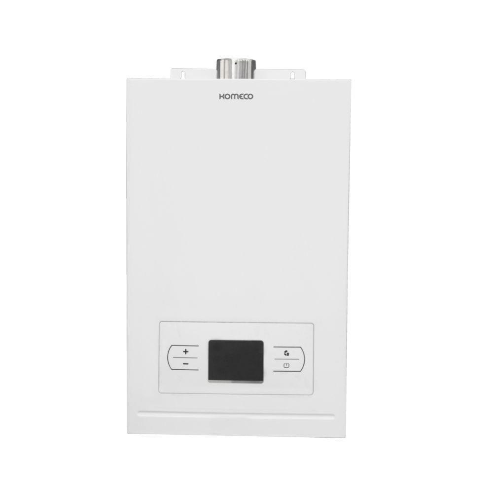 Aquecedor de água a gás Komeco Digital KO 15 D Branco GLP