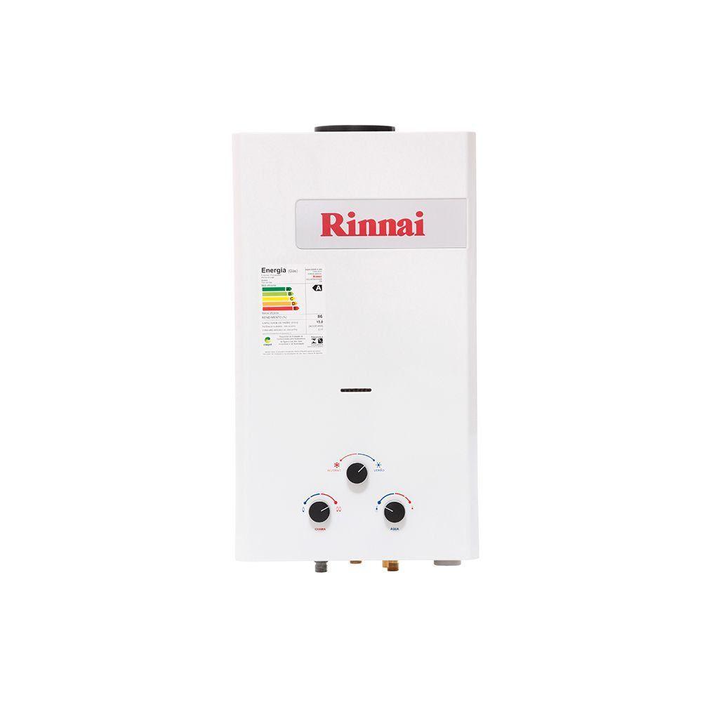 Aquecedor a Gás Mecânico Rinnai REU-M150 CFHB 15L GN