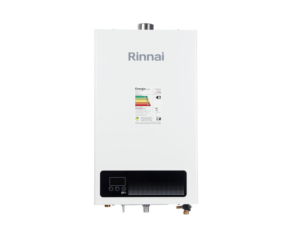 Aquecedor a Gás Digital Rinnai REU-E150 FEHB 15L GLP