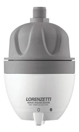 Aquecedor Eletrico Maxi Ultra 127v 4600W Branco Lorenzetti
