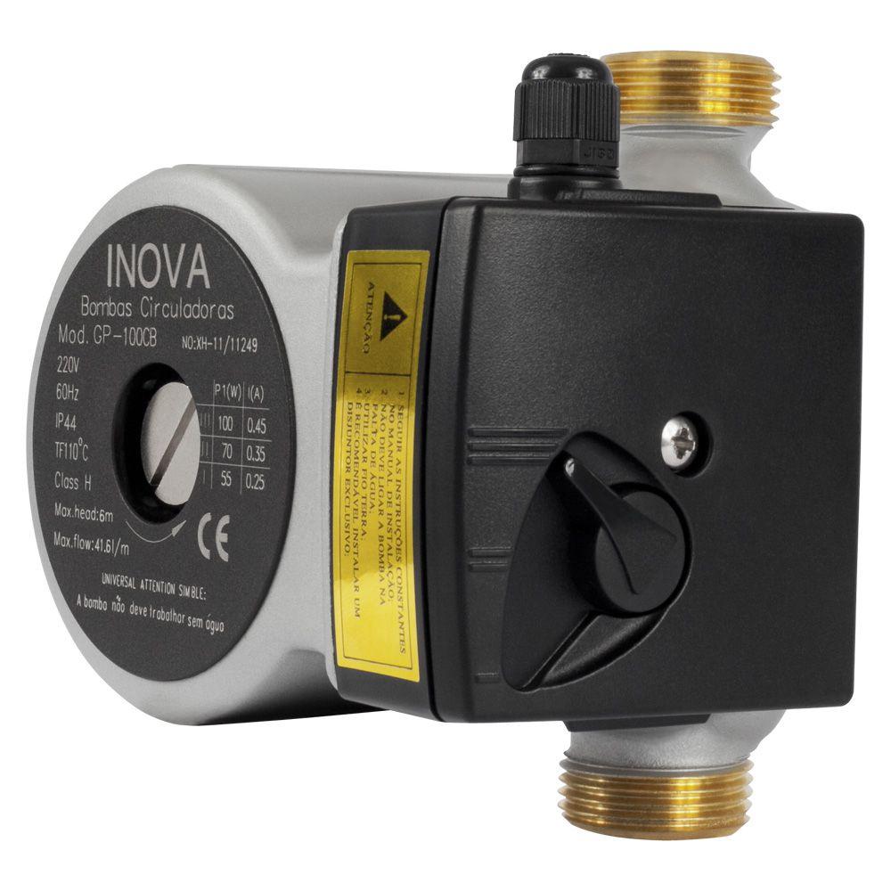 Bomba circuladora de água INOVA GP 100 220v Latão