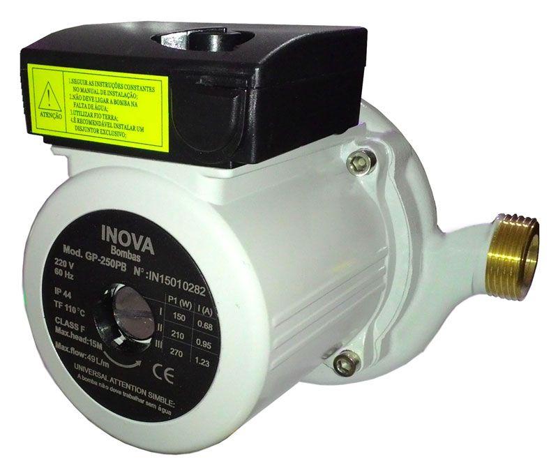 Pressurizadora ou Circuladora Inova GP 250P Ferro 220V