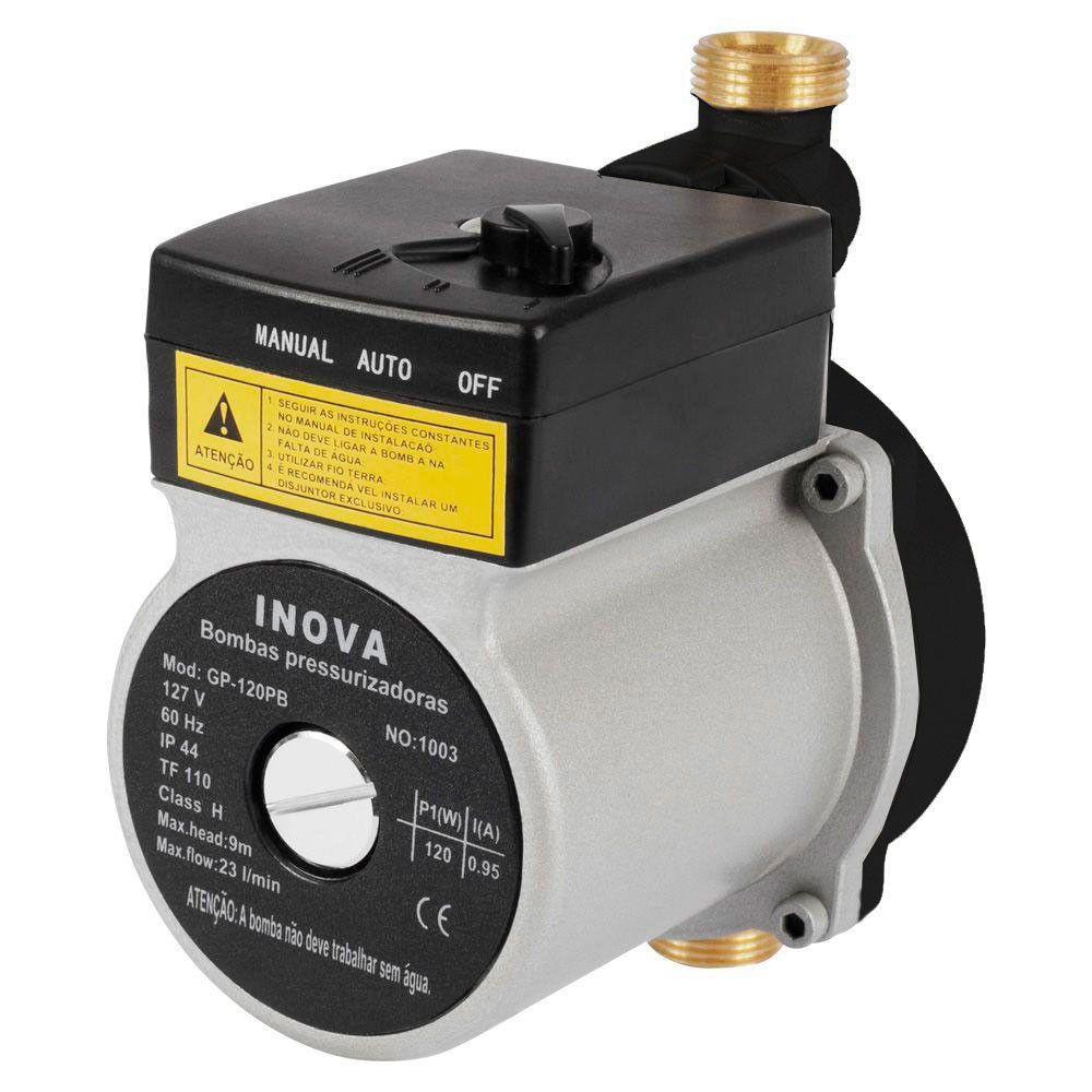 Bomba pressurizadora INOVA GP 120 Nylon 220v