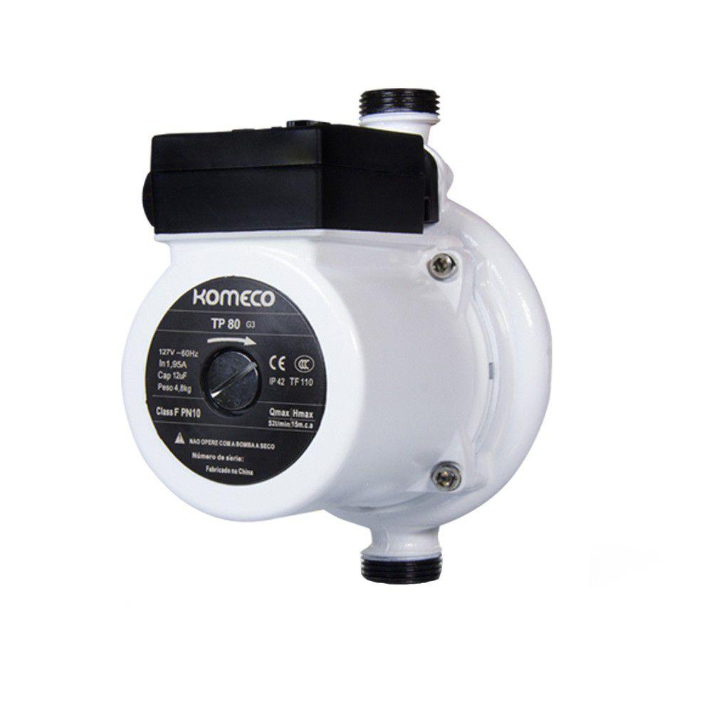 Pressurizadora Komeco TP80 Ferro 220V