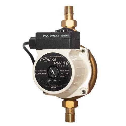 Bomba pressurizadora RW 12 mini Bronze Rowa 220V