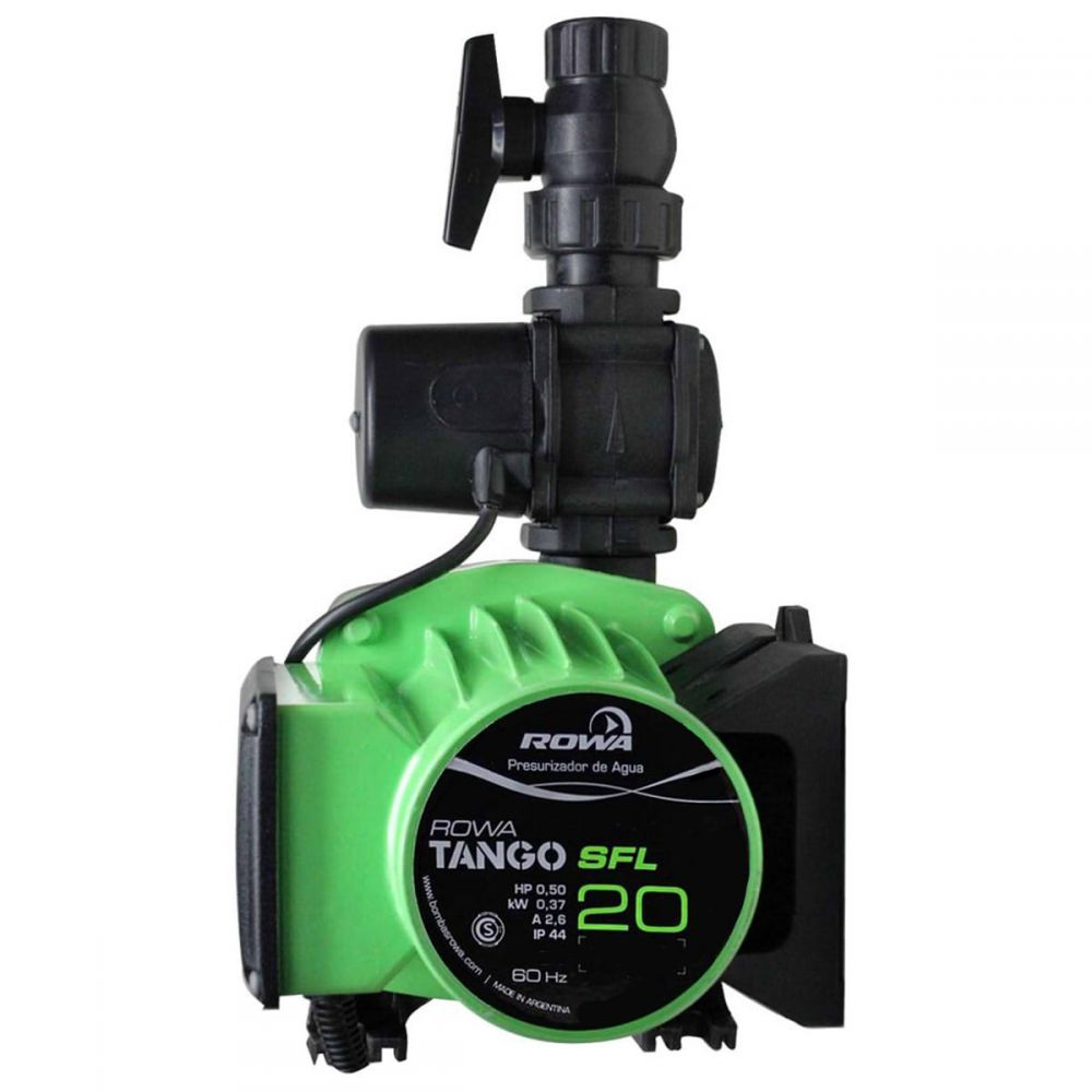 Bomba pressurizadora Tango SFL 20 Rowa 19 m.c.a. 127V