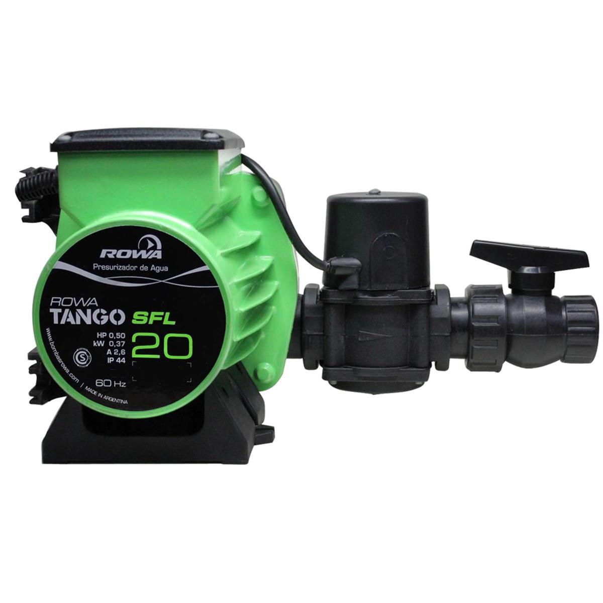 Bomba pressurizadora Tango SFL 20 Rowa 19 m.c.a. 220V