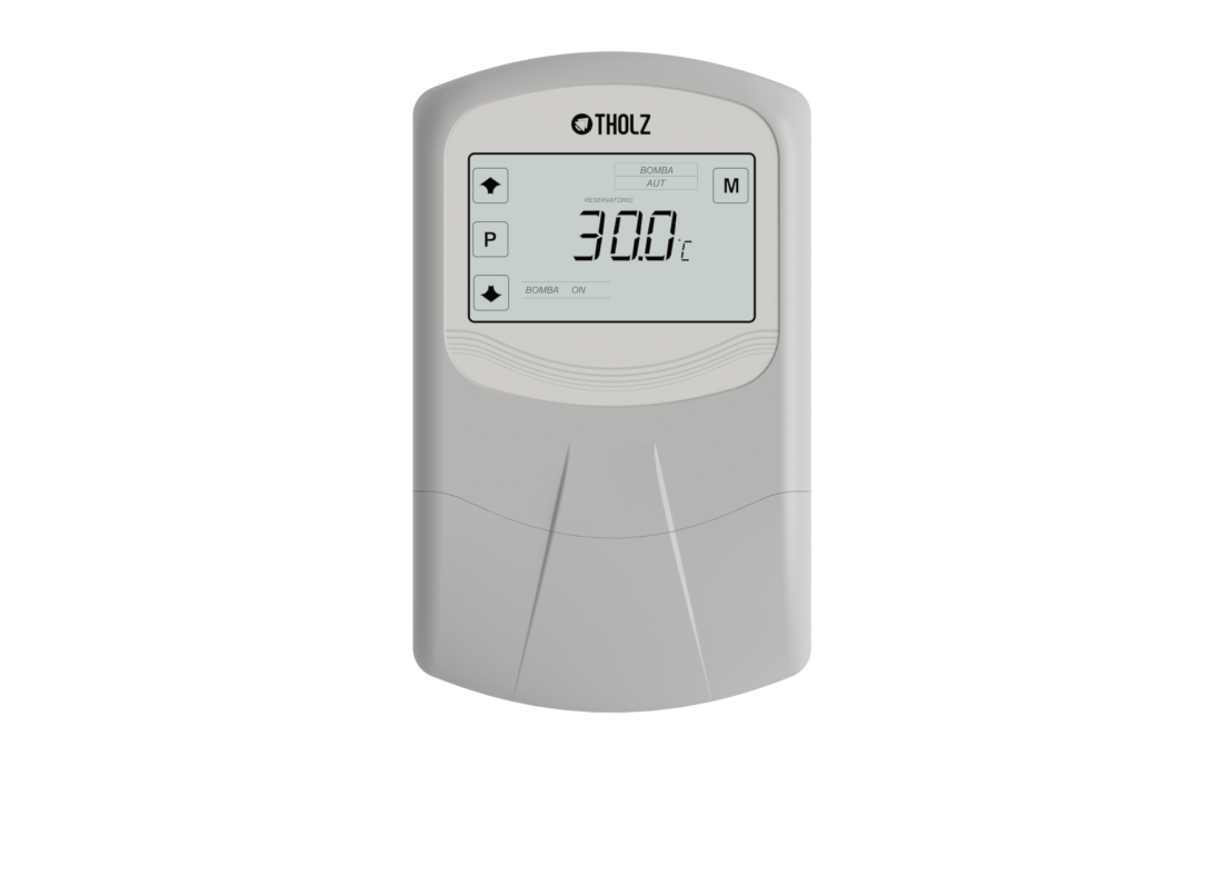 Controlador por diferencial de temperatura com 2 sensores Tholz MMZ 1195N