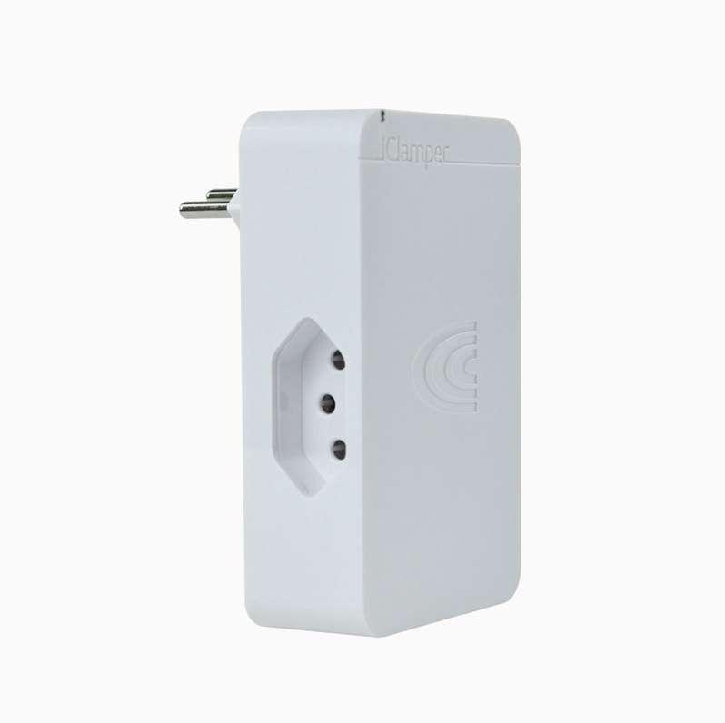 DPS iClamper 3P 10A Branco 3 Tomadas