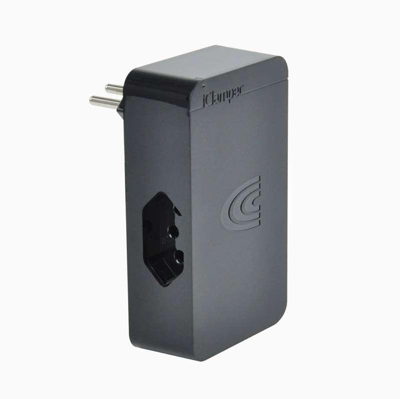 DPS iClamper 3P 10A Preto 3 Tomadas
