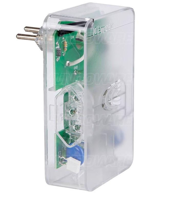 DPS iClamper 3P 10A Transparente 3 Tomadas