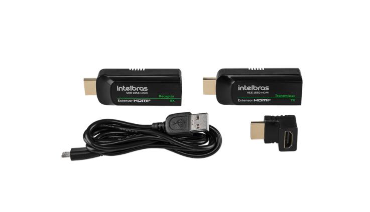 Extensor de vídeo HDMI até 50 m VEX 1050 Intelbras