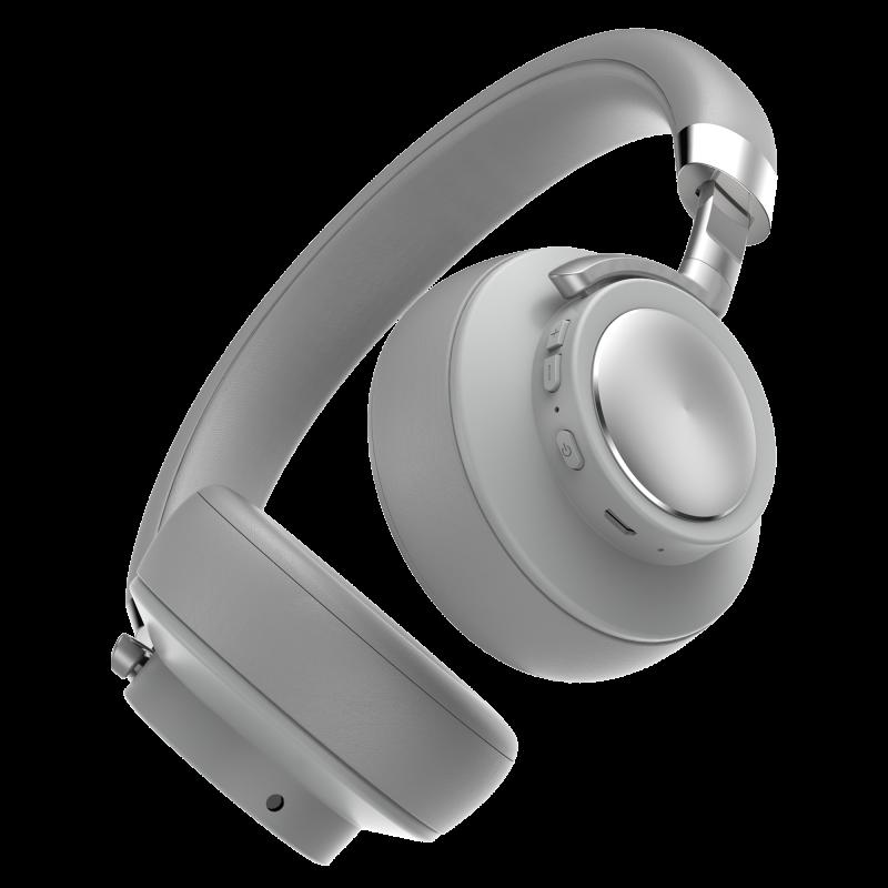 Fones de Ouvido Aerfluid Geonav AER07GR Bluetooth Cinza