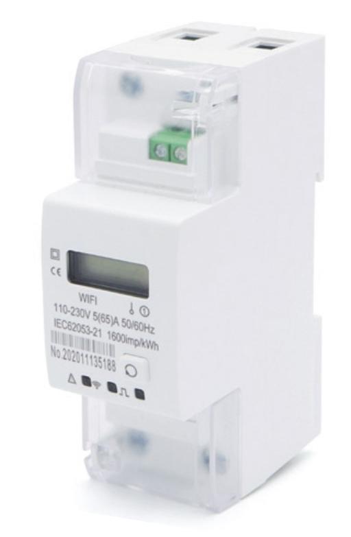 Medidor de energia monofásico 65A - Wi-fi Geonav