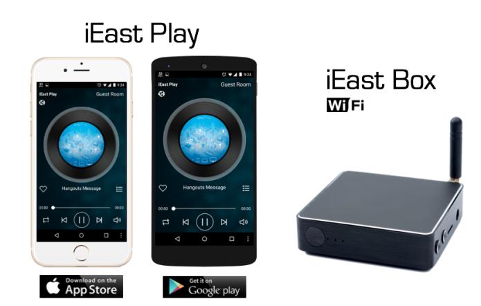 Pré Amplificador Som Ambiente iEast M30 Wireless