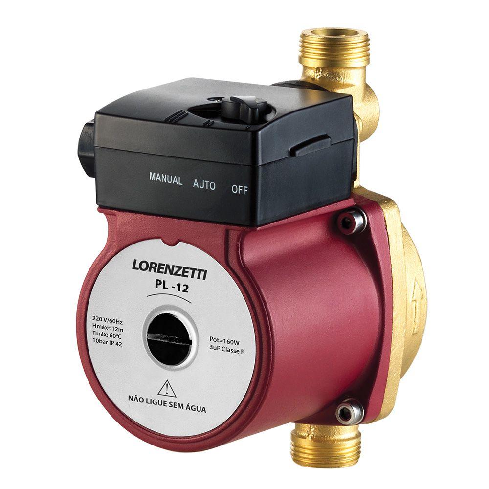 Pressurizador de água Lorenzetti PL 12 160w -220v