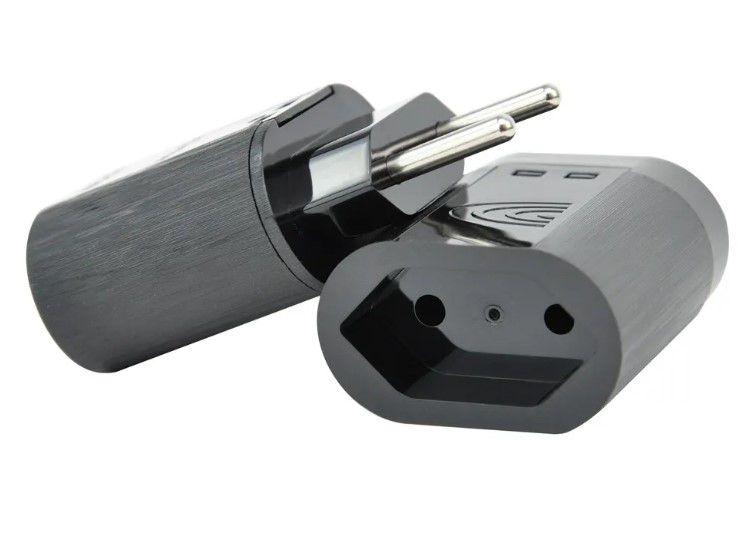 Protetor Surtos Raios Dps iCLAMPER Pocket 2P 10A Preto/Branco