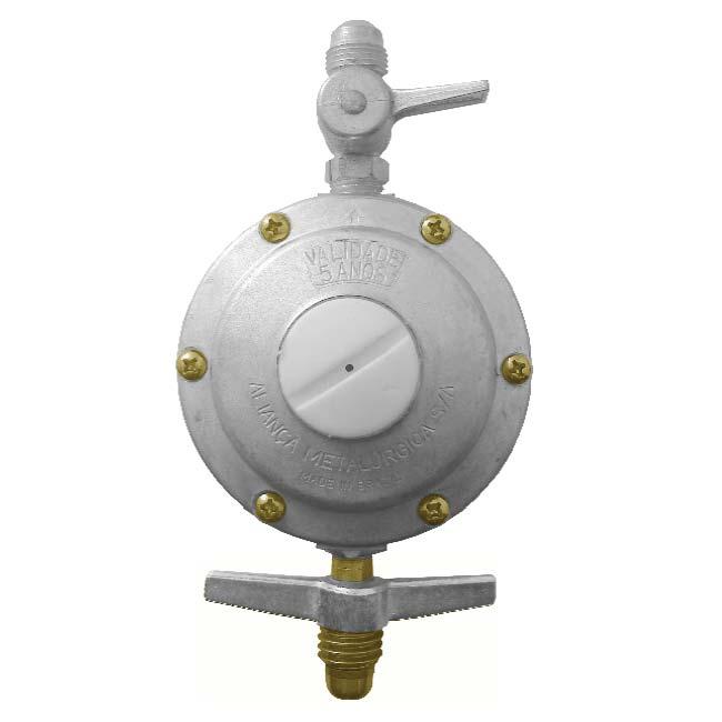 Regulador de pressão aliança 506/18 5kg/h