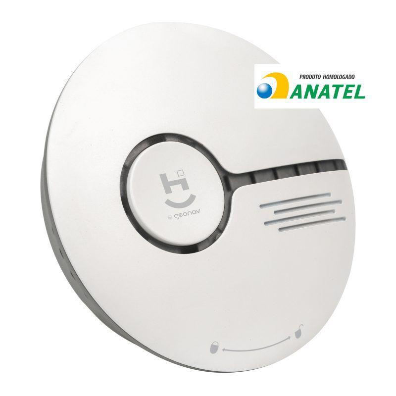 Sensor Inteligente de Fumaça Wi-Fi Geonav HISSSK