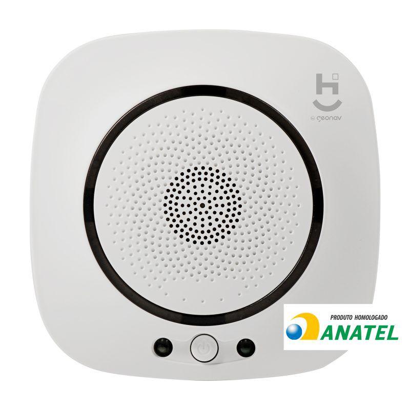 Sensor Inteligente de Gás GN e GLP Wi-Fi Geonav HISSGL