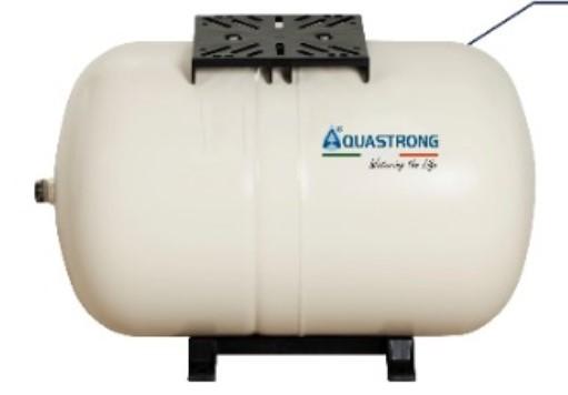 Vaso de Expansão Horizontal LH-PW 24 Litros Aquastrong