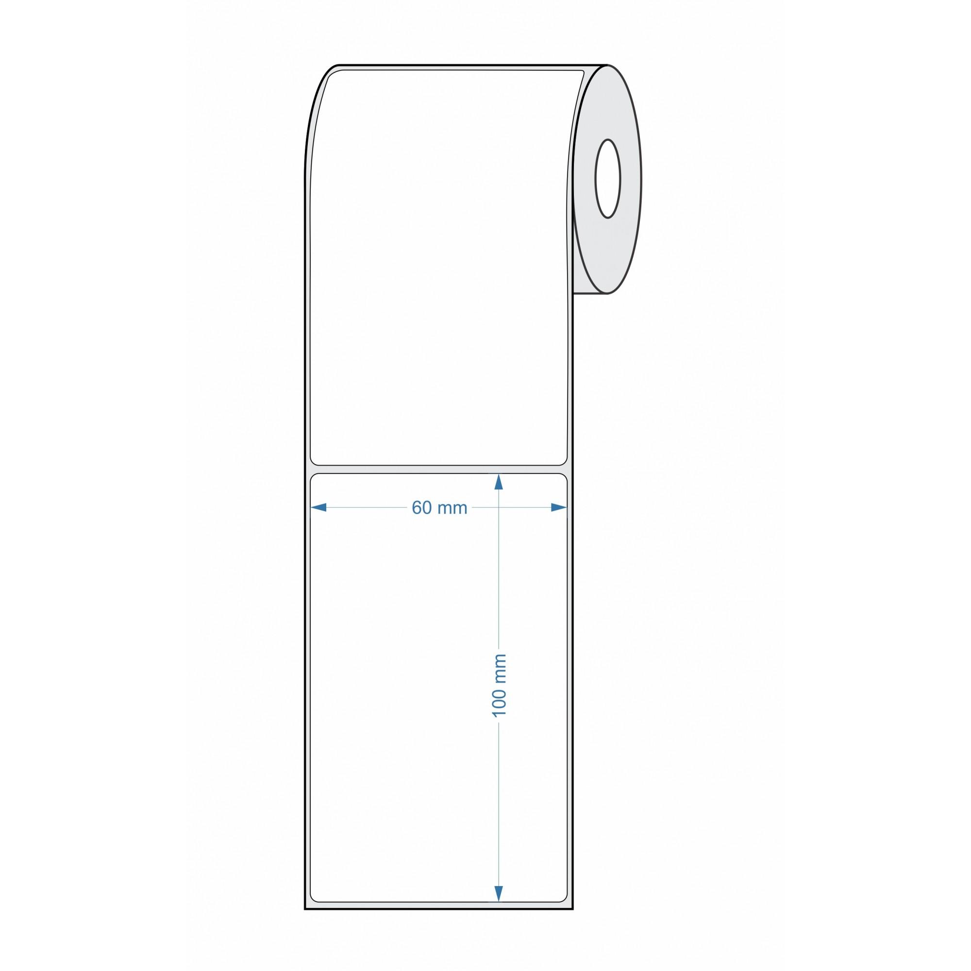 Etiquetas Adesivas para Balança 60x100 25 metros - 10 Rolos