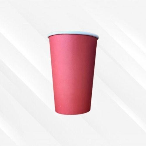 Copo de Papel Biodegradável 330 Ml Liso Vermelho 30un