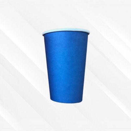Copo de Papel Biodegradável 330 Ml Liso Azul 30un