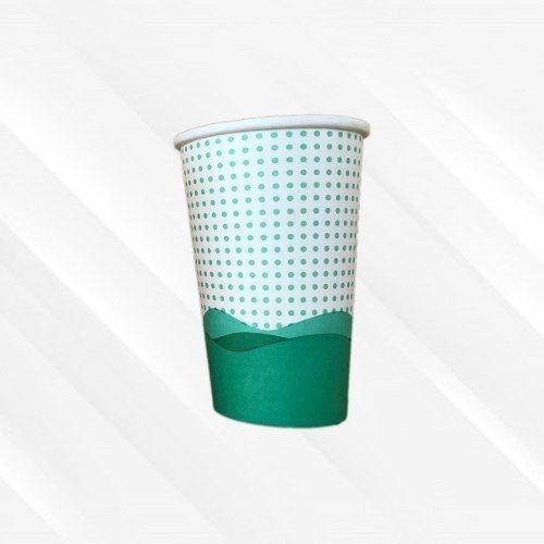 Copo de Papel Biodegradável 330 Ml Onda Mar Azul 30un