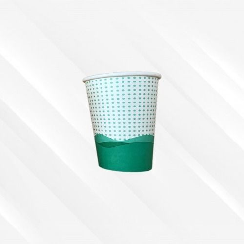 Copo de Papel Biodegradável 200 Ml Onda Mar Azul 30un