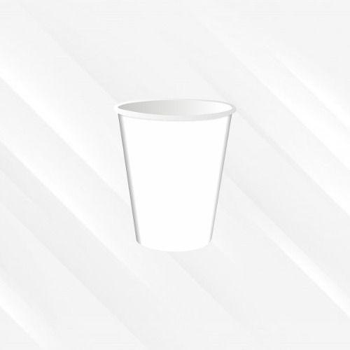 Copo Térmico Biodegradável 200 Ml Branco 30un