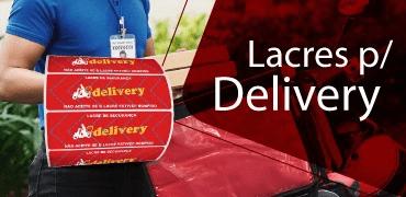 lacre para delivery