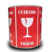 Etiquetas Adesivas Selo Frágil Taça 500 Unidades