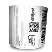 Etiquetas Adesivas MercadoLivre com cabeçalho 100x175 Mm Térmica – 4 Rolos