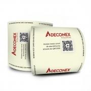 Bobinas Térmicas ECF ADECONEX 80mm x 40m   Caixa com 30 unidades