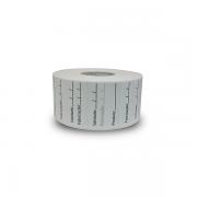 Etiqueta Adesiva Bopp 40x40 Validade - 5 Milheiros
