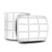 Etiquetas Adesivas Couchê 34x23 3 Colunas sem Espaçamento 32 Metros
